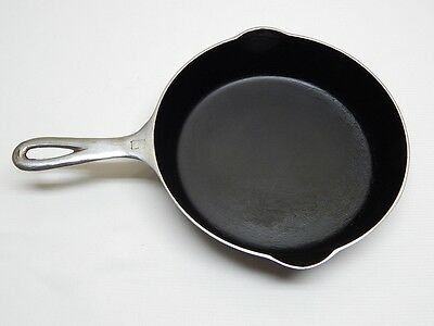 "Vintage Griswold #6 Cast Iron 9"" Frying Pan Skillet Nickel Plated 699D"