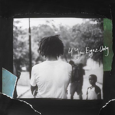 "J Cole 4 Your Eyez Only New Album Music Cover Poster 12x12"" / 24x24"" / 32x32"""