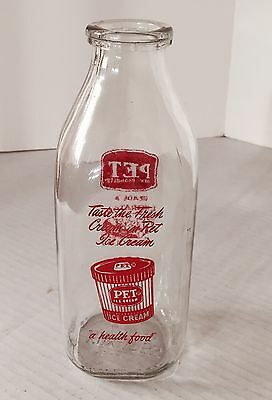 Vintage Milk Bottle Pet Dairy Products