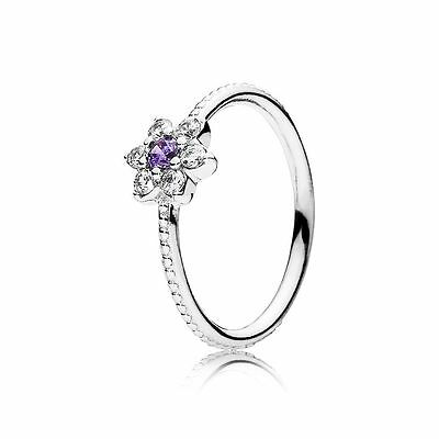 Genuine Authentic Pandora Forget Me Not Ring 190990Acz Size 56