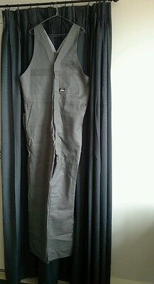 NEW ACTION BACK OVERALLS MENS WORK WORKWEAR SIZE 102r