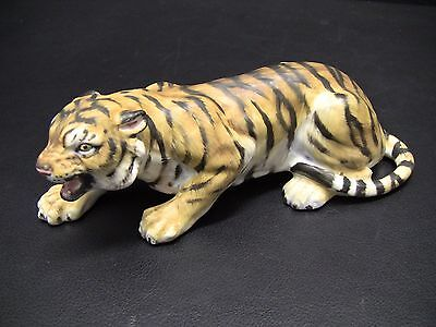 Rare Halcyon Days Wildlife Collection by Howard J. Wedgwood TIGER Figurine