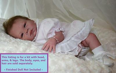 "Reborn ~ Baby Paisley ~ 20"" Vinyl Doll Parts Kit by Denise Pratt 2975"