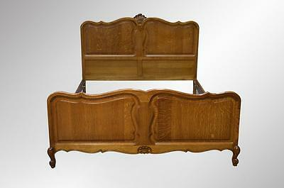 16903 French Victorian Raised Panel Carved Full Size Bed