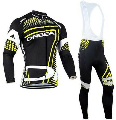 ORBEA Long sleeve Replica Cycling Jersey and Bib Long Set Racing Pro