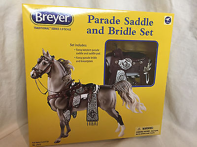 ! Breyer Traditional Series # 2052 Fancy Parade Saddle ! (Horse Sold Separately)