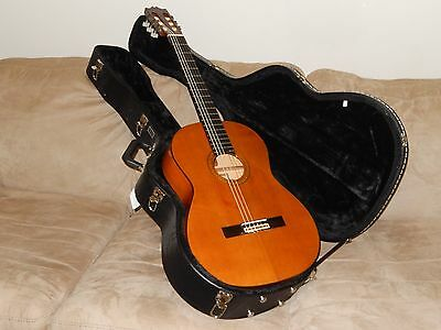 Ultra Rare Made In 1970 By Ryoji Matsuoka  Terrific Flamenco Guitar Model 30F