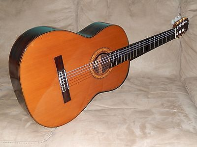 Made In 1970 Ultra Rare Masaru Matano C400 Exceptional Classical Concert Guitar
