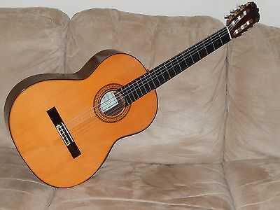 Hand Made In Japan Ryoji Matsuoka M50 Ramirez Style Vintage Classical Guitar