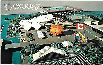 Expo 67 1967 Montreal Expo Canada's Pavilion Covers 11 acres