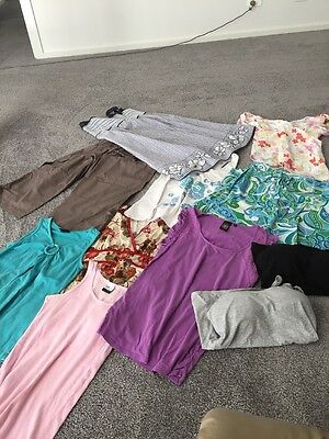 Bulk Lot Ladies Maternity Clothes Size Small 11 Items