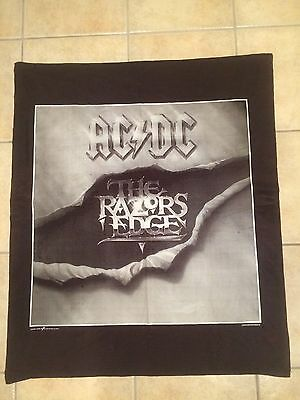 AC/DC Tapestry Poster Flag Banner The Razors Edge Vintage