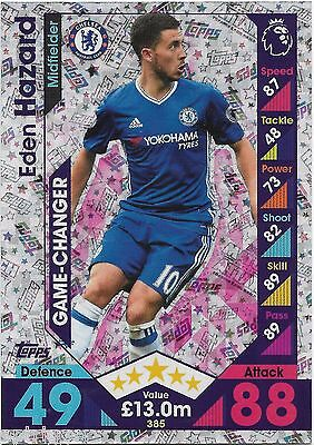 2016 / 2017 EPL Match Attax (385) Game Changer EDEN HAZARD Chelsea
