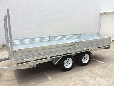 Delivery AU Flat Top Trailer 14x7 OZZI Brand New