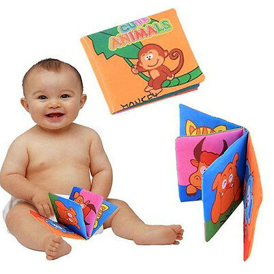 Soft Cloth Cognize Picture Book Educational Toy Baby Intelligence Development