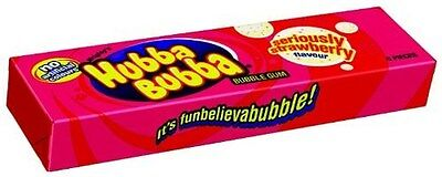 Wrigley's Hubba Bubba Seriously Strawberry
