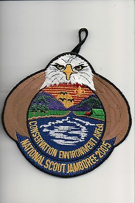 2005 National Scout Jamboree Conservation Environment Area patch