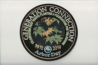 1910-2010 Arbor Day Generation Connection patch