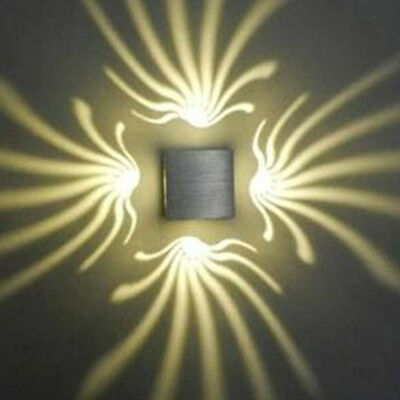 Wall Sconce LED Square Wall Lamp Hall Porch Walkway Living Room Light 220V