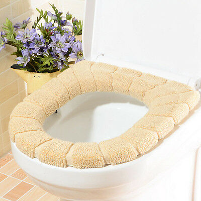 Warmer Comfortable Toilet Seat Cover for Bathroom Products Cushion Pads