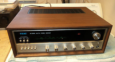 Beautiful And Rare Vintage Teac Ag-6000 Stereo Am/fm Receiver - Dual Voltage