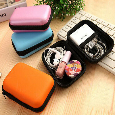1Pc Travel Set Mobile Kit Case Digital Devices USB Cable Data Line Storage Bag
