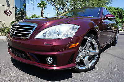 2009 Mercedes-Benz S-Class 09 S63 AMG Sedan S Class 63 ONLY 68k MILES 2009 Red S63 AMG Sedan Low Miles like 2007 2008 2010 2011 2012 2013 2014 S550