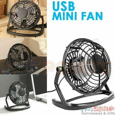 USB Portable Mini Fan Cooling Desk Notebook Laptop Computer PC USB Cooler MUTE