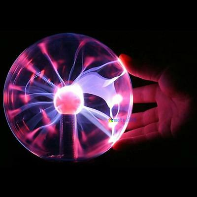 Touch Sensitive Plasma Ball Globe Sound Activated/ Constantly On USB Lighting UP