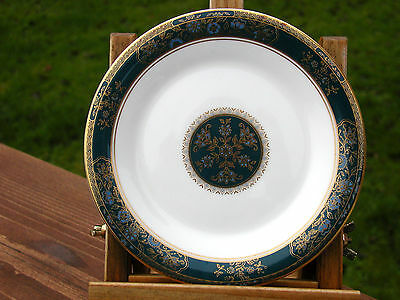 Pair Of Royal Doulton Porcelain Side Plates In The Colourful Carlyle Pattern