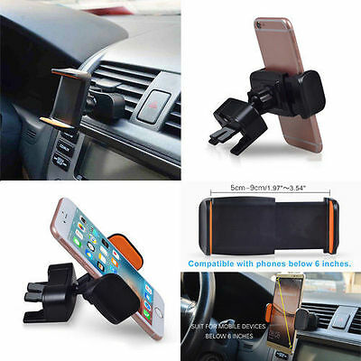 Universal 360° 2 in 1 Car Air Vent/CD Slot Mount Holder Stand For Cell Phone GPS