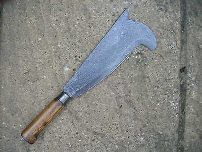"""Vintage  ' Gilpin's '  10 """"  Norfolk Pattern Hedge Laying Billhook In Good Cond."""