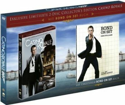 James Bond - Casino Royale Lim. Collector's Ed. 2 DVD's/NEU/OVP Set-Buch