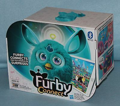 Furby Teal Connect New Bluetooth Interactive smart Toy Hasbro App Kids 2016