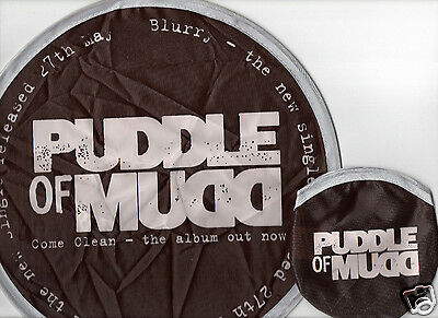 PUDDLE OF MUDD Blurry Canvas Frisbee UK 2002 RARE PROMO ONLY ROCK POP FREE S&H