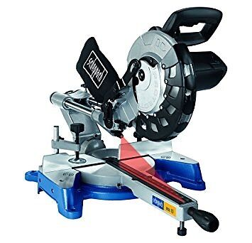 Scheppach MSS10 254mm 240V Sliding Compound Mitre Saw