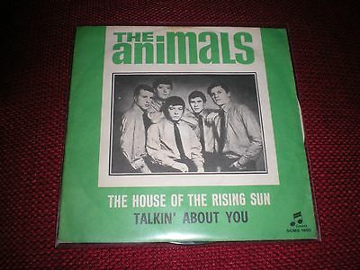 """7"""" - The ANIMALS - THE HOUSE OF THE RISING SUN"""