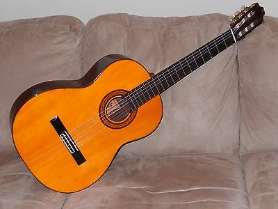 Hand Made In 1979 Amazing Morris M30 Classical Guitar In Excellent Condition