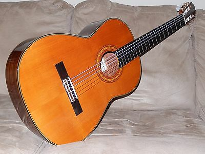 Hand Made By Eichi Kodaira El300 Superb Vintage 630Mm Scale Classical Guitar