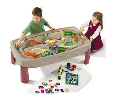 Step2 Deluxe Canyon Road Train and Track Table For Kids 754700