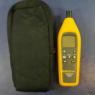 Fluke 971 Temperature Humidity Meter, Excellent condition, Carrying Case