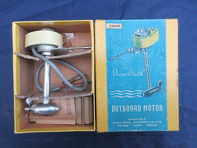 Vintage Scale model Equipment Co Ltd Foam Wraith electric outboard Motor c1960