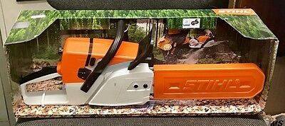 Stihl Toy Chainsaw Child`s Kids Birthday Gift Battery Operated FREE DPD DELIVERY