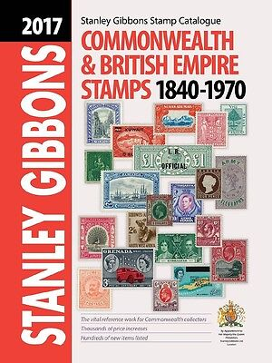 STANLEY GIBBONS - COMMONWEALTH & BRITISH EMPIRE STAMPS - 1840 1970 - 2017 ed.