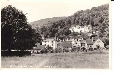 RP Early MALVERN WELLS - houses, trees, meadow, published by JUDGES Ltd.
