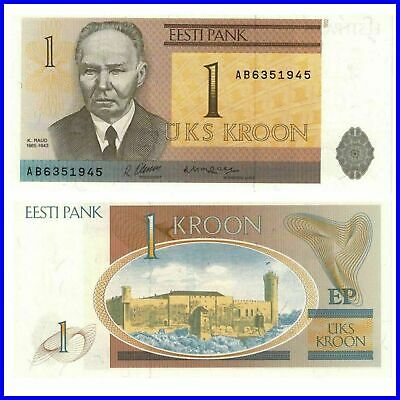 Estland  Estonia 1 Kroon 1992 Unc.Pick:69a #