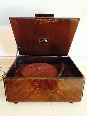 Vintage 1940's RCA Victor V-26 Electric Record Player / Phonograph