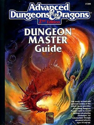 DUNGEON MASTER'S GUIDE EXC+! 2100 AD&D D&D TSR Master's Dungeons Dragons Master