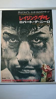 Raging Bull (1980) - Original Japanese B2 20x29 Film Poster
