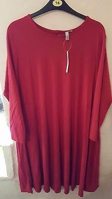 ASOS Maternity Red Dress Size 16